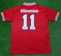 VfB Stuttgart Trikot Retro Canon 1979/80 Original #11 Klinsmann Shirt Jersey XL