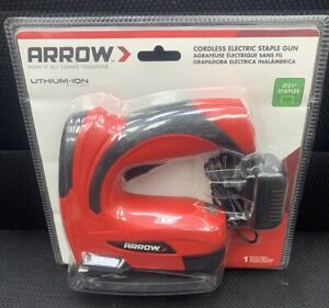 **Arrow Cordless Electric Staple Gun E21 New SEALED