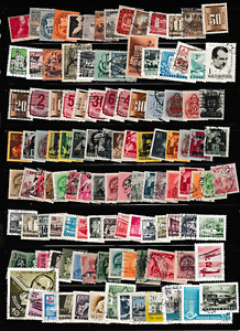 #3230=Hungary mixed selection of over 100 different stamps
