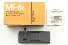 【Brand New】 Nikon MF-6B Auto Rewind Control Back Plate For F3 MD-4 MotorDrive JP