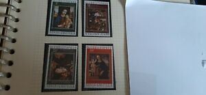 St. Kitts Nevis Anguilla 1972 Christmas Stamps