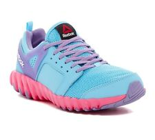 GIRLS REEBOK TWISTFORM 2.0 SNEAKER GYM RUNNING ATHLETIC SHOE (blue pink)  4