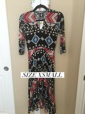 Agnes And Dora The Curie Dress Women Size XSmall NWT  Multicolor With pockets