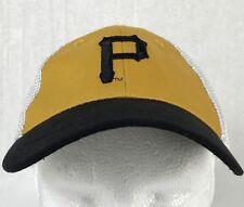 Pittsburgh Pirates Baseball Cap Hat Mesh Back Adjustable