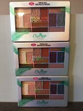 Physicians Formula Eyeshadow Palette Butter New Tropical Days Lot Of 3. New