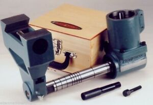 Horizontal Milling Attachment R8 w/ Support (50° dovetail) & Arbor