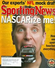 2005 Sporting News Magazine: NASCAR #1 Brian Vickers/NFL Draft