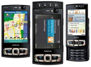 New Condition Nokia N Series N95 8GB Unlocked - Black Smartphone WIFI GPS 5MP