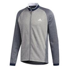 adidas Golf Midweight Textured Jacket (Collegiate Navy - XL)