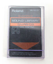 Roland SN-R8-03 Sound Effects Sound Library Sound Data Rom for R-8
