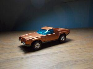 Vintage Hot Wheels Breakaway Bucket RESTORED Orange/Tan Interior Real Riders