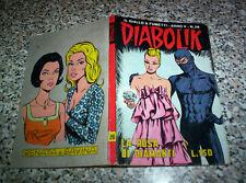 DIABOLIK ANNO V N.26 ORIGINALE 1966 OTTIMO TIPO KRIMINAL SATANIK KILLING