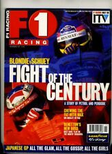 F1 RACING MAGAZINE November 1997 Schumacher Villeneuve Verstappen Benetton