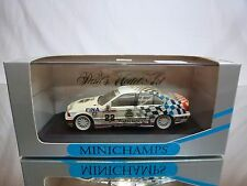 MINICHAMPS BMW 318i SCHNITZER FINA- 1st BTC 1993 - WINKELHOCK 1:43 - GOOD IN BOX