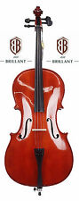 BRILLANT Student II 1/2 Cello Outfit with Bag, Bow and Rosin Full Size