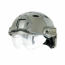 Lancer Tactical PJ Type Basic Version Helmet W/ Retractable Visor 15606