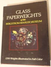 Glass Paperweights Of The Bergstrom Mahler Museum Reference Book Hb Dj 1989