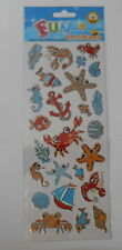"""BEAUTIFUL FUN STICKERS """" CRABBING """" FOR CARDS & CRAFT"""