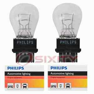 2 pc Philips Parking Light Bulbs for Nissan Armada Frontier Pathfinder Quest ug