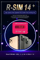 R-SIM15/RSIM14+ Nano Unlock RSIM Card for iPhone 11 Pro Max iOS13 8/7/6 LOT Set
