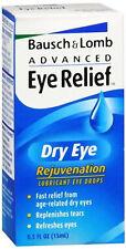 Bausch & Lomb Advanced Eye Relief Dry Eye Lubricant Eye Drops 0.5 oz