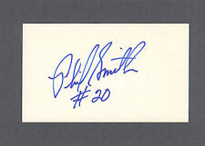 Phil Smith signed basketball index card 1952-2002