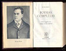 AGUILAR - Ruben Dario - Poesias Completas - Col. Joya