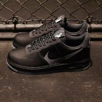 Nike Air Force 1 07 LV8 Negro Blanco Gris Hombre Zapatillas Talla UK 7-11