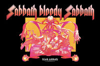 BLACK SABBATH FLAGGE FAHNE SABBATH BLOODY SABBATH POSTERFLAGGE STOFF POSTER FLAG