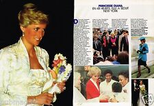 Coupure de Presse Clipping 1989 (2 pages) Princesse Diana Lady Di