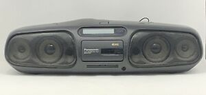 TESTED & WORKING Panasonic RX-DS45 Portable StereoRadio CD Cassette Boom Box