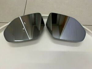 Audi OEM Q8 LH & RH Mirror Glass SET Dimming Heating from 2018 Year