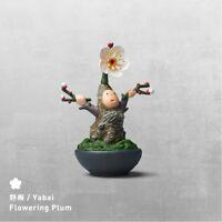 Takara Tomy Panda's ana Bon-no Potted Plant model Yabai Flowering Plum