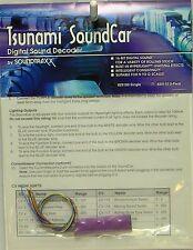 NIB SoundTraxx 829100 Tsunami SoundCar Sound Decoder