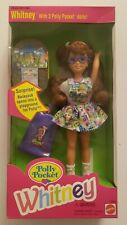 1994 Mattel Polly Pocket Whitney Doll With 3 Polly Pocket Dolls No. 12983 NEW