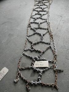 LKW  Unimog Schneeketten 10,5 R20  Einzel Doppelgreifsteg gebraucht