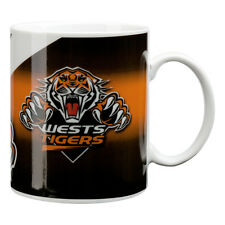 NRL Wests Tigers TEAM Ceramic Coffee Mug Cup Fathers Day Christmas Gift