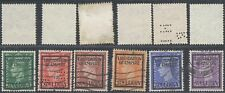 St Lucia Surcharge - Used Stamps D78
