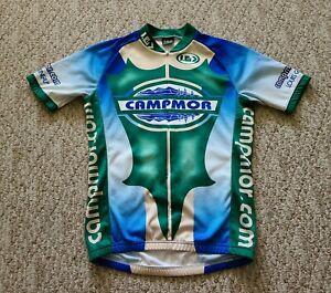 EUC Louis Garneau Men's Campmor Cycling Jersey Shirt Color Green Size Small S