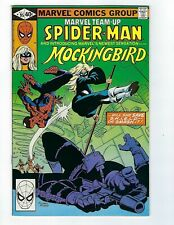 Marvel Team-Up # 95 Spider-Man and Mockingbird VF+ 1st Appearance