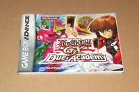 Yu-Gi-Oh! GX Duel Academy (Instruction Manual Only) Nintendo Game Boy Advance