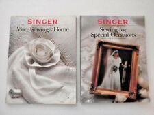 2 Vintage Singer Sewing Reference Books Home Decor Formal Wedding Prom Dresses