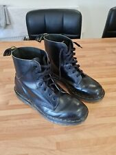 Dr Martens Boots - Vintage Made In England 1993 - Black UK 8 P9428