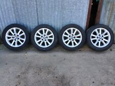 BMW 3 SERIES E46 SPIDER ALLOYS 10 SPOKE 7JX16 + PIRELLI TYRES 225/50/R16 6762299