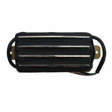 Quad Rail Pickup Humbucker Guitar Pickup 4 Blade Black