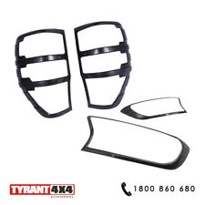 Black Out Kit Headlight & Tail Lights to suit Ford Ranger MK3 2020 XLT XLS Trim