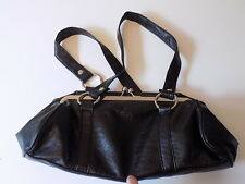 Small DOROTHY PERKINS Black BAG Vinyl Not Leather Clasp