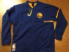 Golden State Warriors Adidas 2016 NBA On-Court 2XL Warm-Up Full Zip Jacket $110