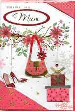 Isabels Garden per un favoloso MAMMA cartolina di Natale, 3d, fatti a mano, Qualità TOP (c3)