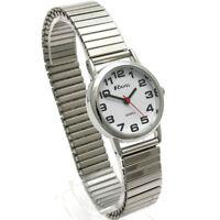 Ravel Ladies Super-Clear Quartz Watch Expanding Bracelet sil #06 R0208.02.2s